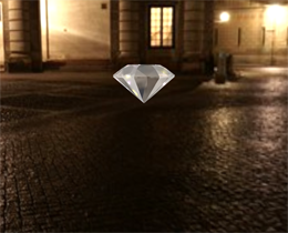 Three.js钻石展示